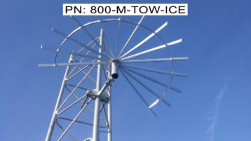 Tower Mount Ice Shield
