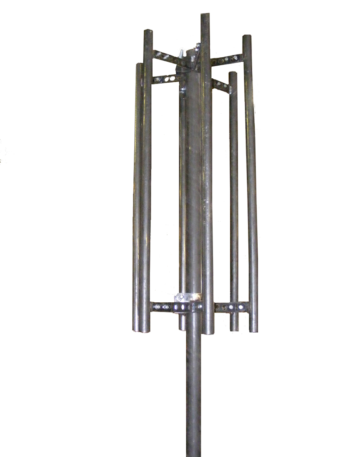 "Triple Standoff Pipe Sector Antenna Mount with 3 x 48"" Masts"