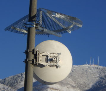 Ice Shield for telecom towers