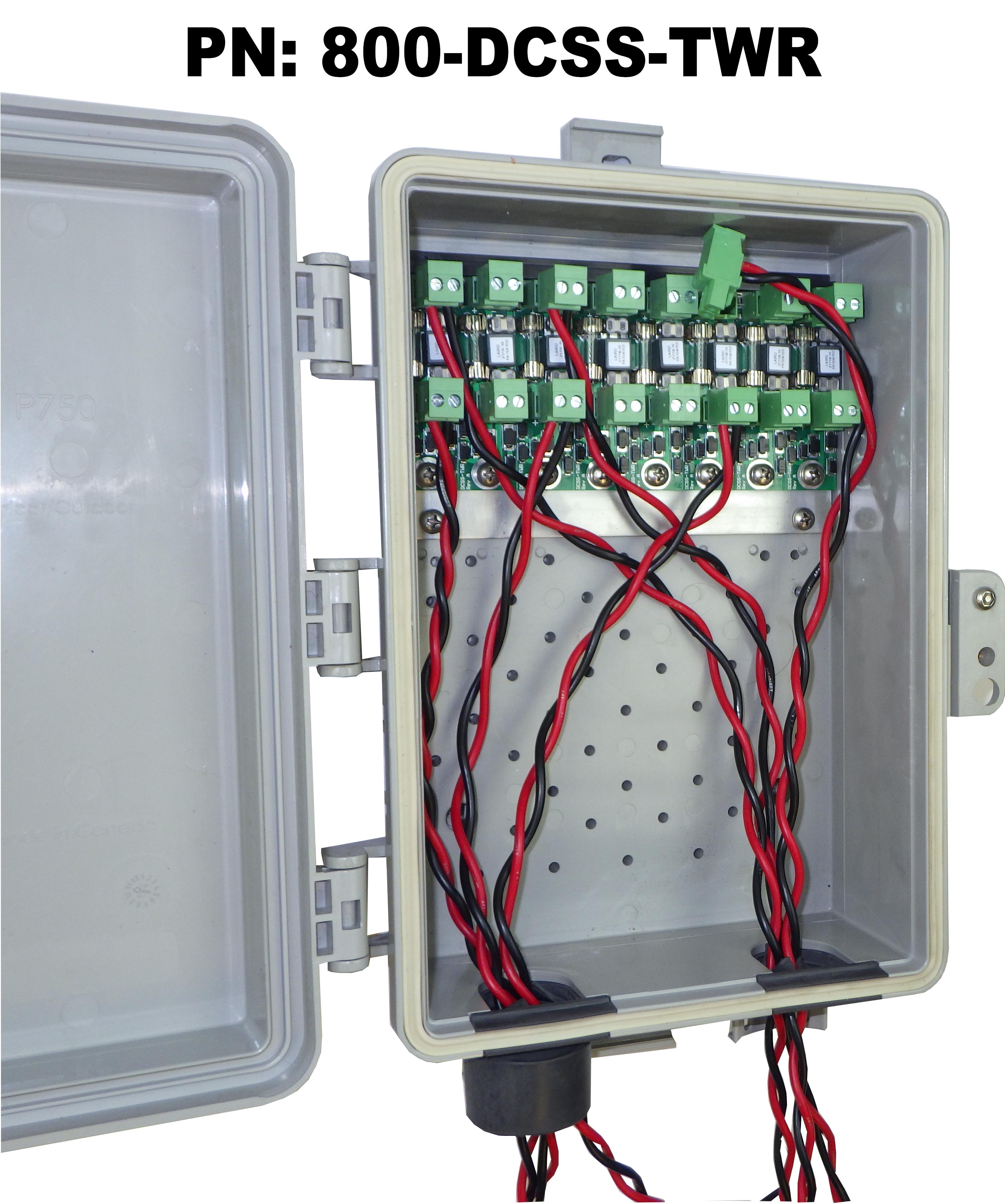 8 Circuit DC Surge Protector